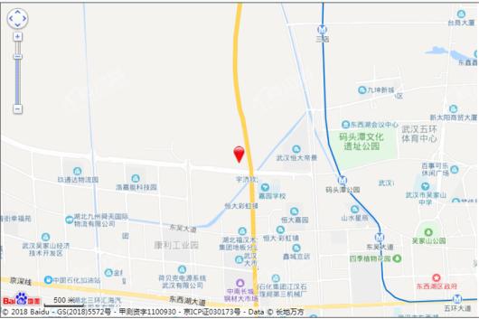 江悦蘭园交通图