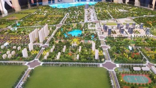 天河孔雀城实景图