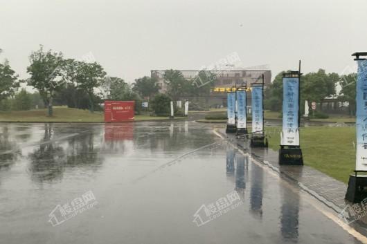 华发华润梧桐湖国际社区半岛公园实景图