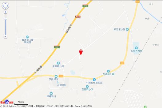 武地融创锦上公馆交通图