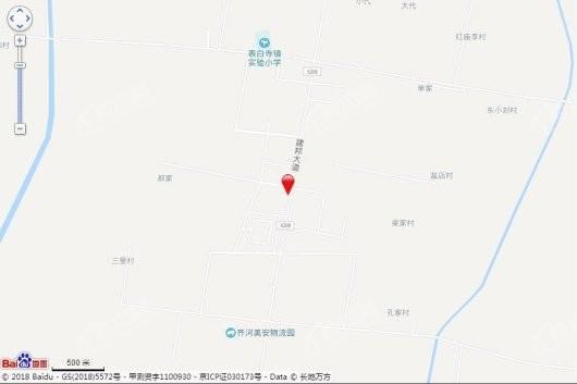 大华尚郡交通图
