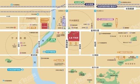 长房·宁洲府交通图