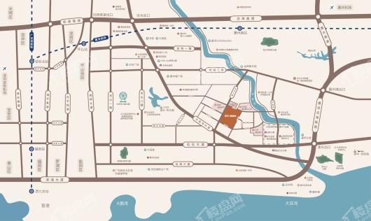 泰丰枫林岸交通图