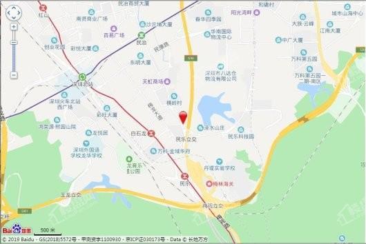 深国际万科和雅轩交通图