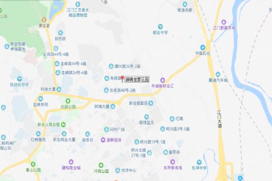 御锦世家花园交通图