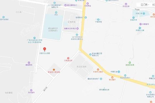 方圆·云山诗意(新会)交通图