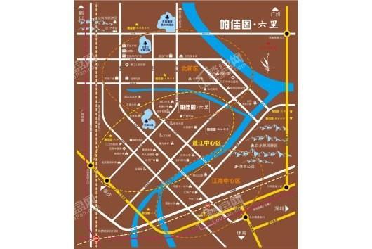 帕佳图·六里交通图