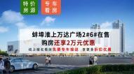 蚌埠淮上万达广场2#、6#在售