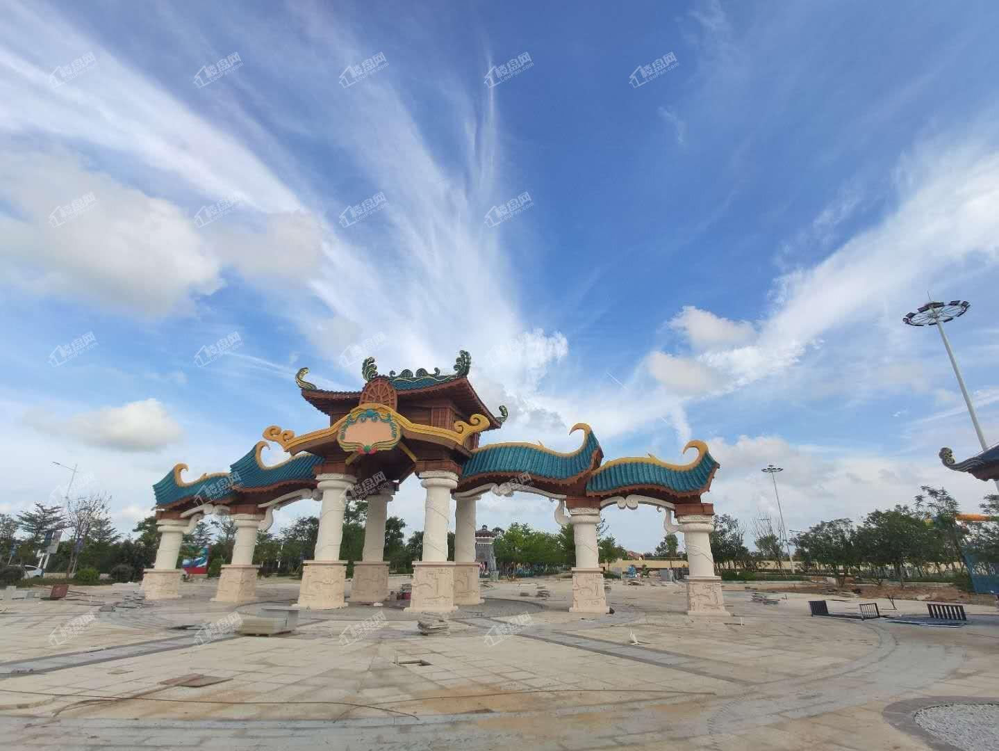 周边配套-中信国安水乐园实景图