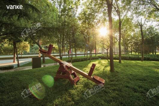 嘉实·万科公园都会实景图
