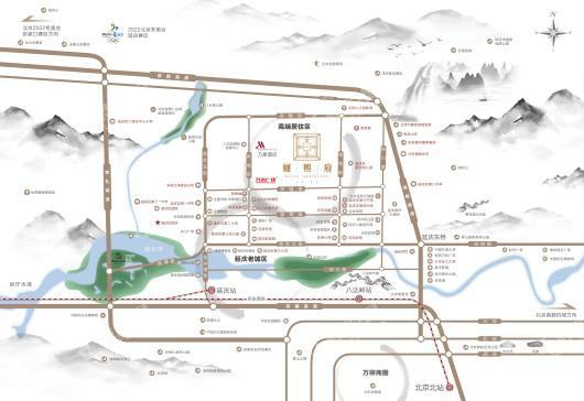 樾熙府交通图