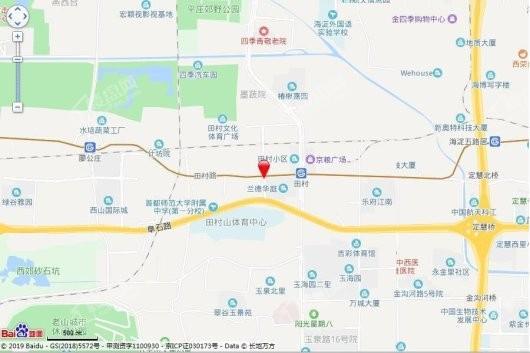 大苑海淀府交通图
