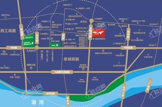 东悦城交通图
