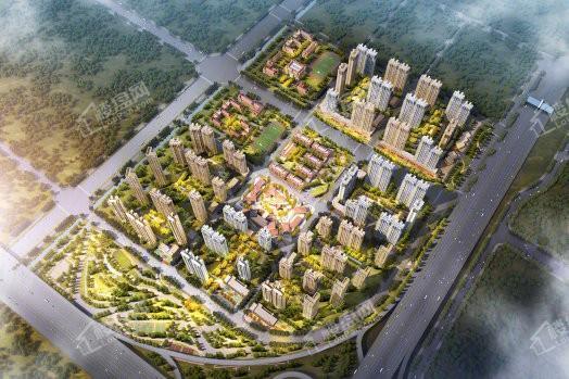 万科保利理想城市效果图