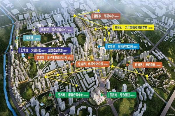 貴陽融創城位置圖