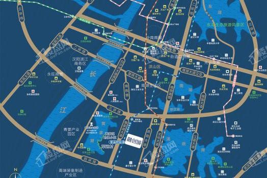武汉融创城效果图