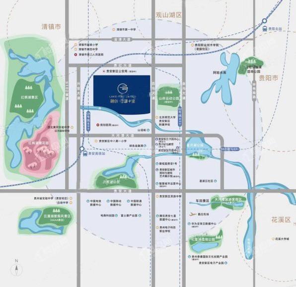 融创·云湖十里位置图