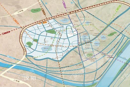 华发中城荟二期中央首府位置图