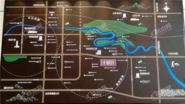 海伦堡千樾府位置图