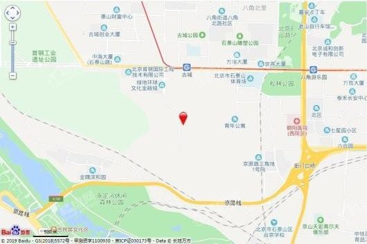 中海首钢·金裕雅苑交通图