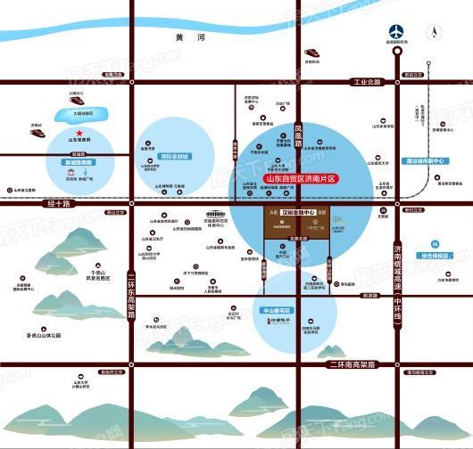泰禾·禾悦广场交通图