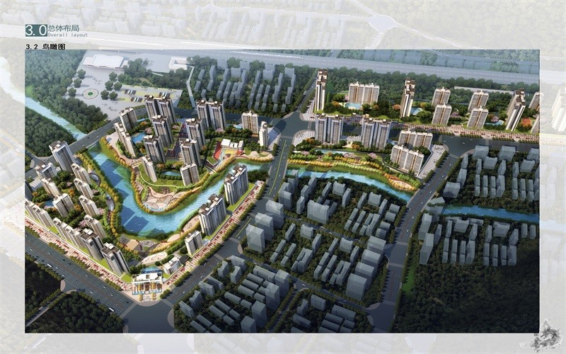麒龙·滨江境效果图