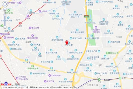 龙湖·春江天玺交通图