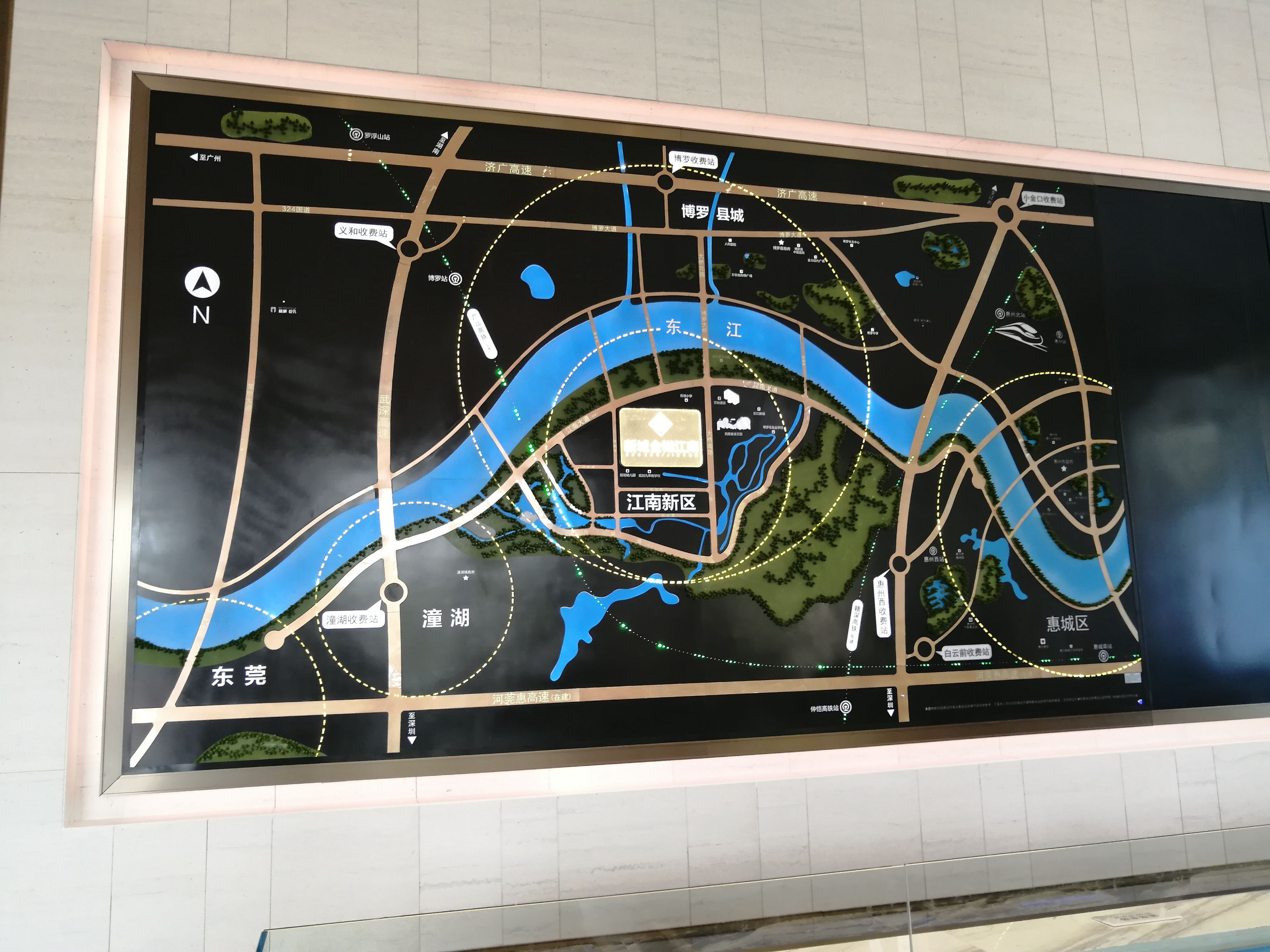 新城金樾江南位置图
