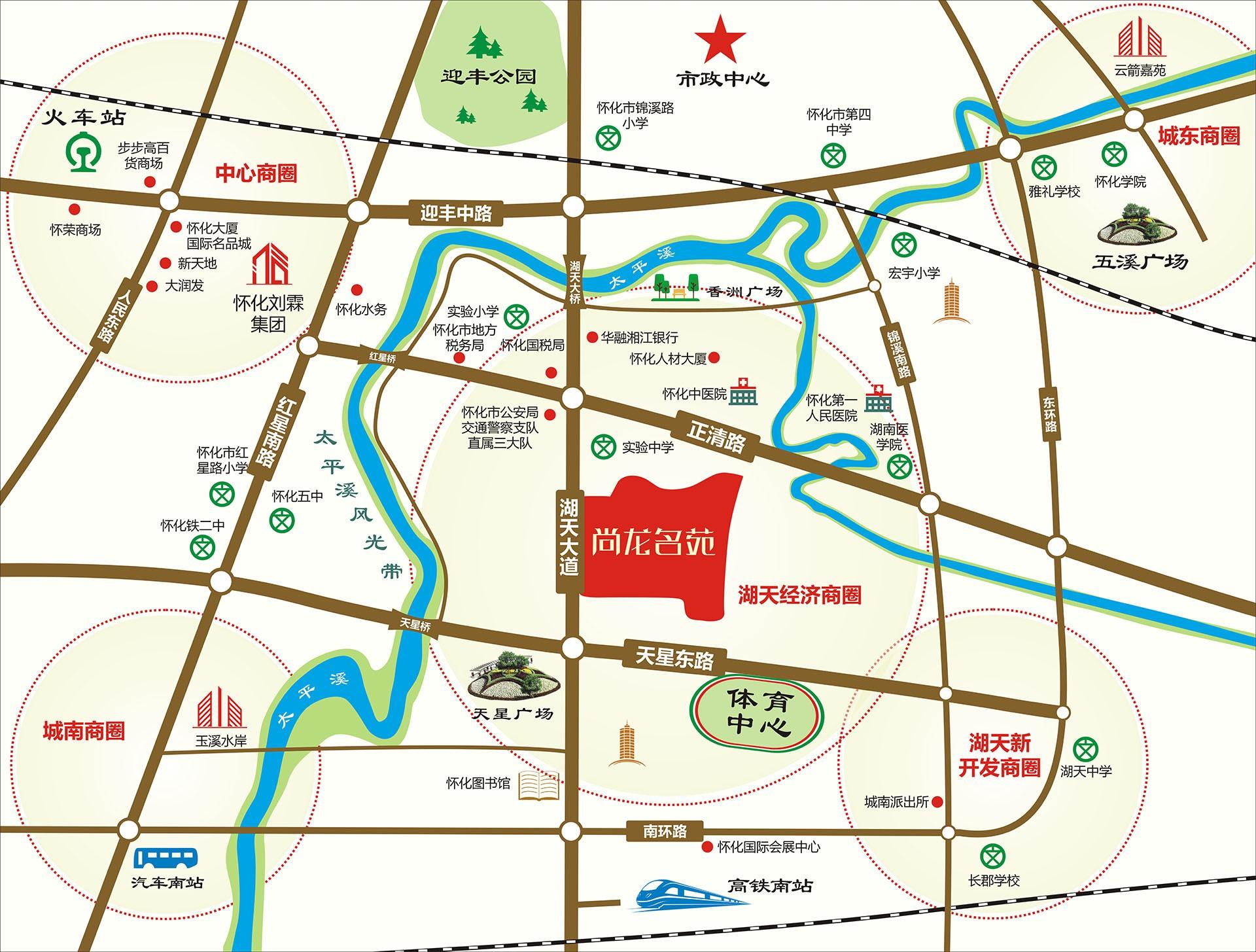 尚龙名苑位置图