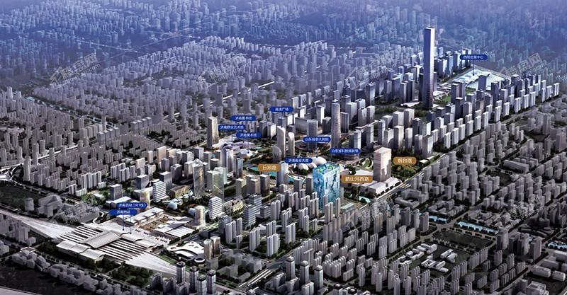 西城·汇金金融中心效果图