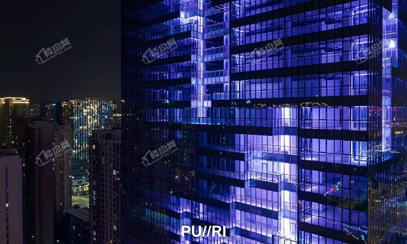 西城·汇金金融中心实景图