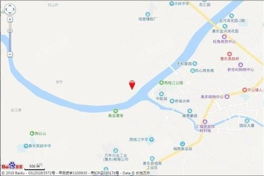 碧桂园江悦湾交通图