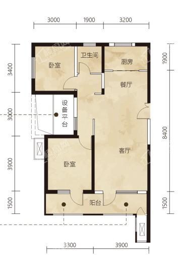 凤城·凯旋公馆户型图