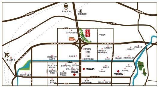 凤城·凯旋公馆交通图