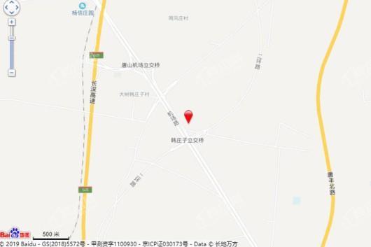 京唐·城际嘉园交通图