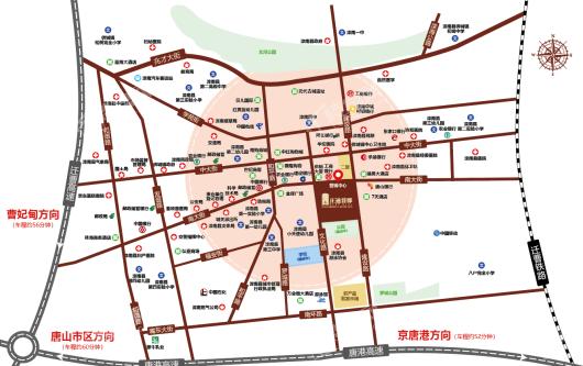 正通首郡交通图