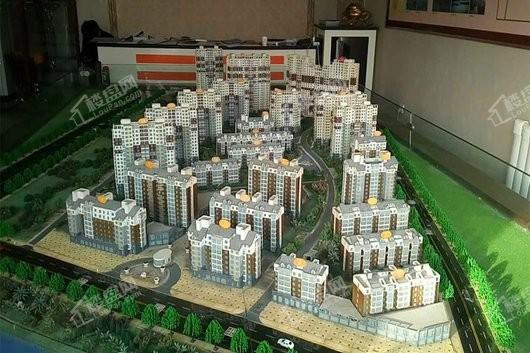水榭花城实景图
