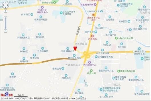 正大南环国际中心交通图