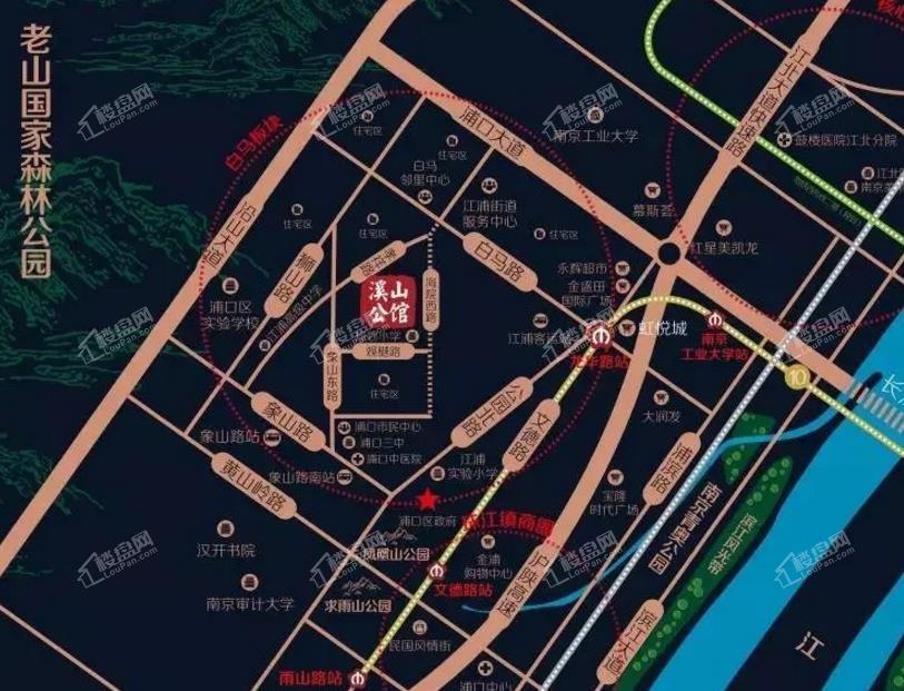 恒大溪山公馆位置图