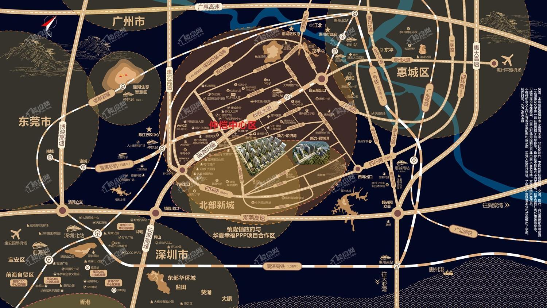 新力帝泊湾位置图