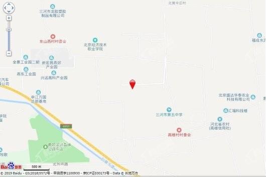 三湘印象·森林海尚城交通图