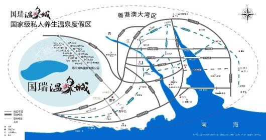 国瑞温泉城交通图