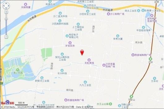 京基御景珑庭交通图