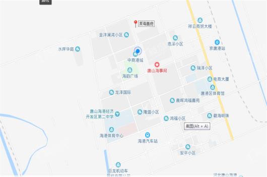 滨海首府交通图