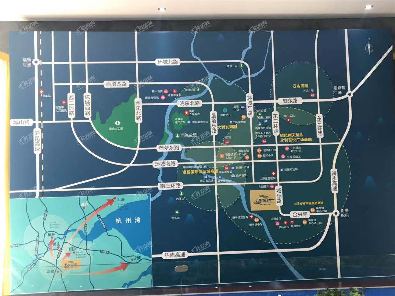 七里金湾位置图