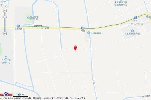 葛洲坝北京紫郡兰园交通图