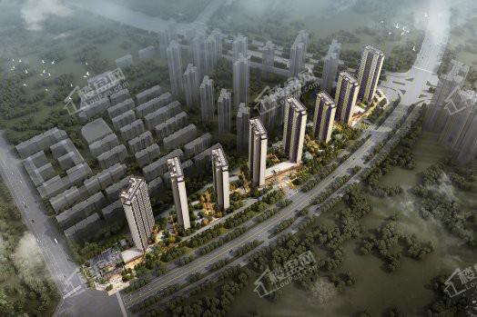 金地·城与城∣艺境效果图