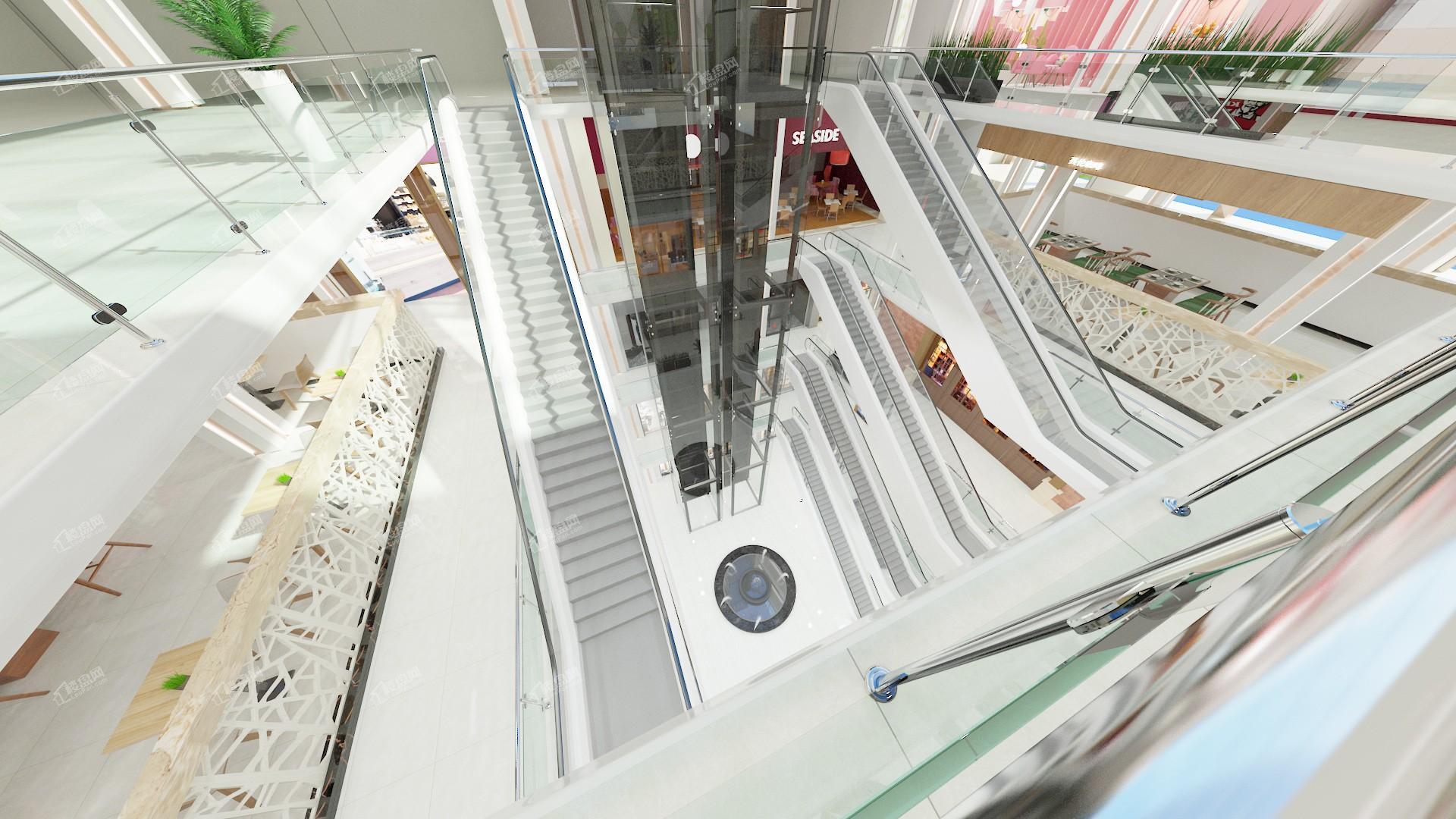 月城新世纪广场实景图