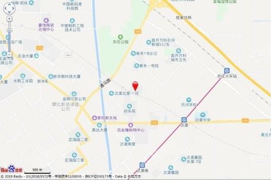台湖金茂悦交通图