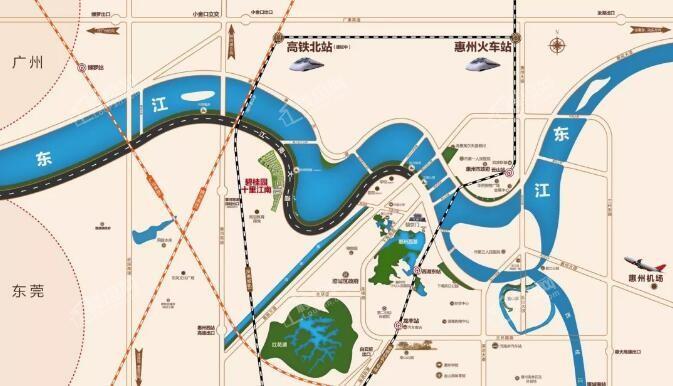 碧桂园十里江南位置图